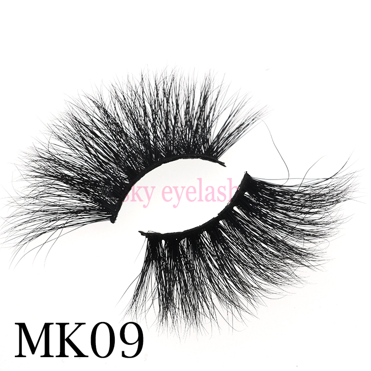 Wholesale mink 25mm lashes private label - Sky eyelash