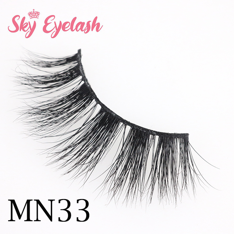 Real mink eyelash distributor wholesale 3D mink eyelashes with best glue USA CO