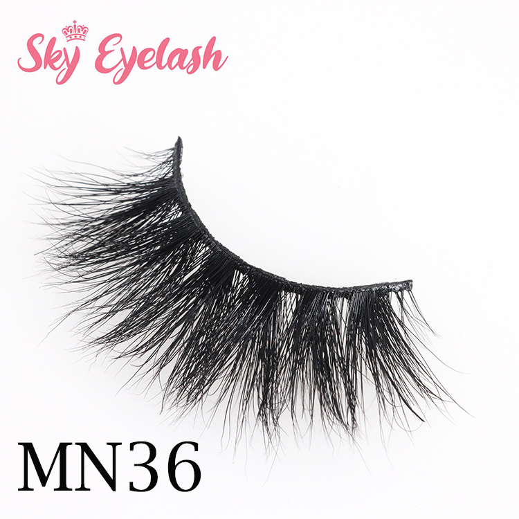 Siberian mink lashes wholesale 25mm 5D mink eyelashes with cheap price to USA CO