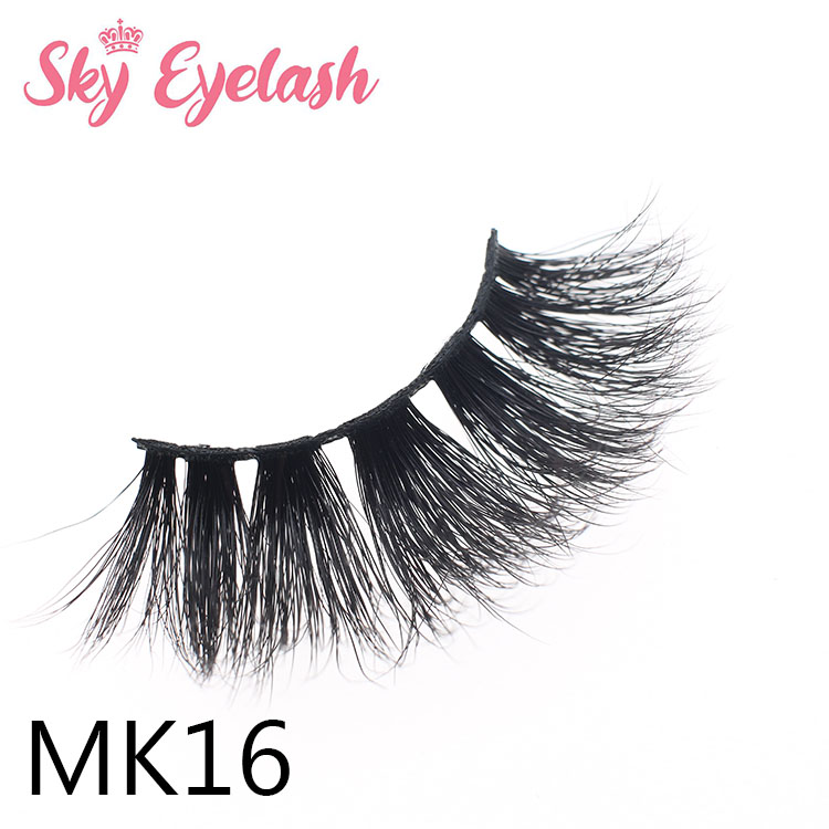 25mm length 1.7usd real mink eyelashes diy packing box color customized manufacturer ES