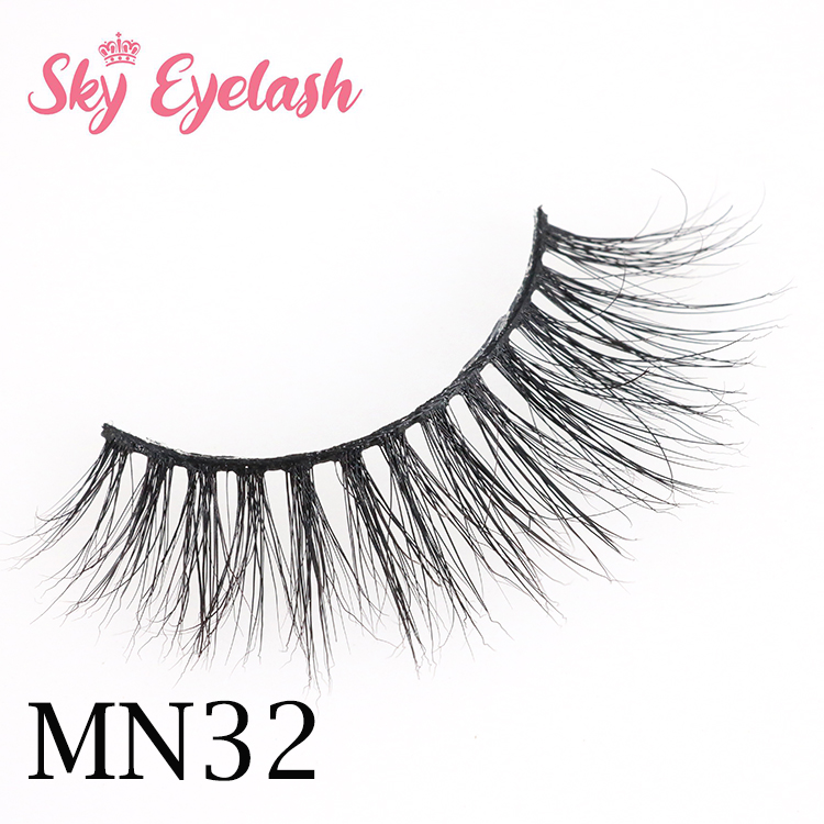 Luxury High Quality 16mm Real Mink Lashes Wholesale Vendors From China OL
