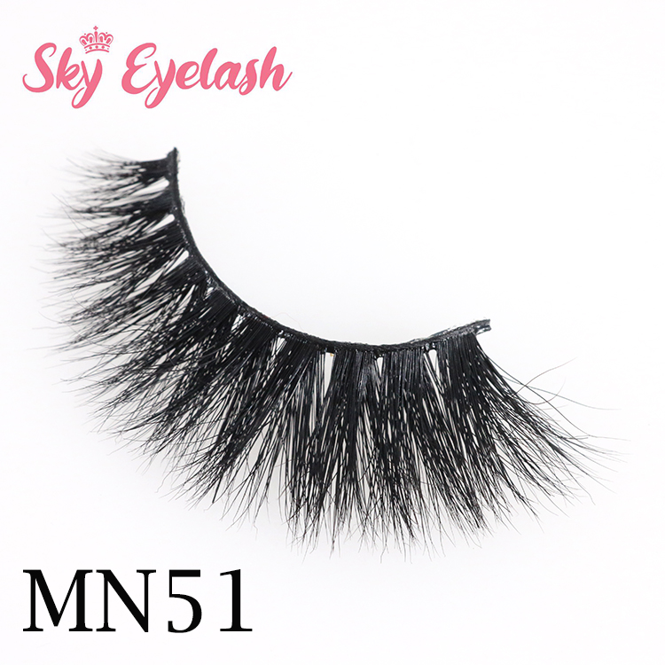 Natural mink lashes wholesale distributor 3D mink eyelashes with best glue to usa CO