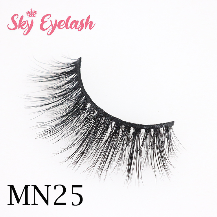 Mink eyelashes vendor wholesale new arrival 3D mink eyelashes-BW