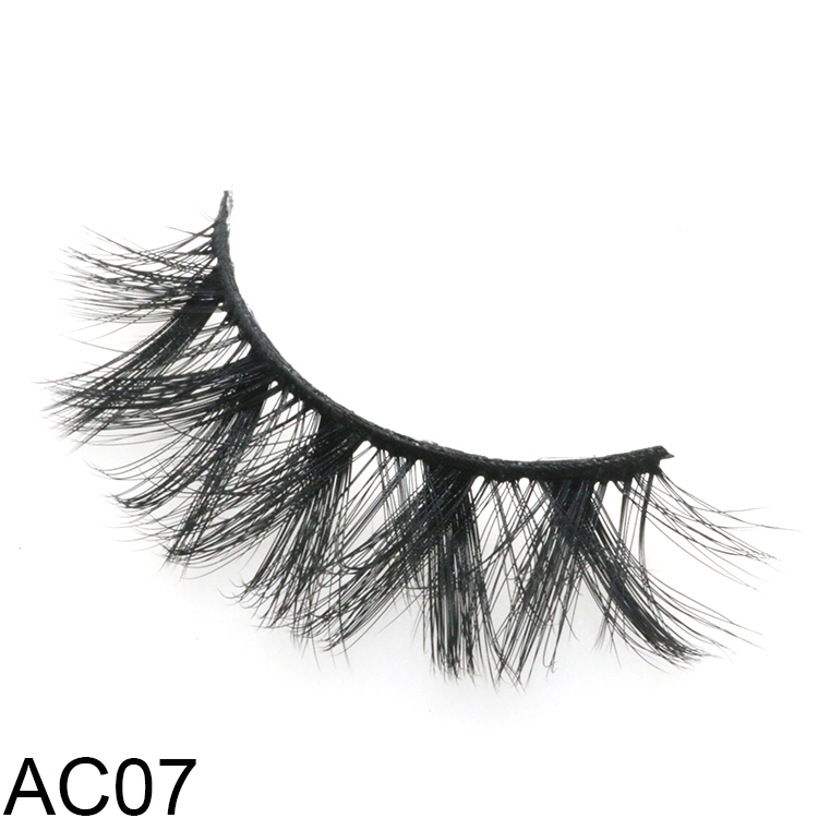 2021 top 1 natural looking 5D faux mink eyelashes with customize boxes UK
