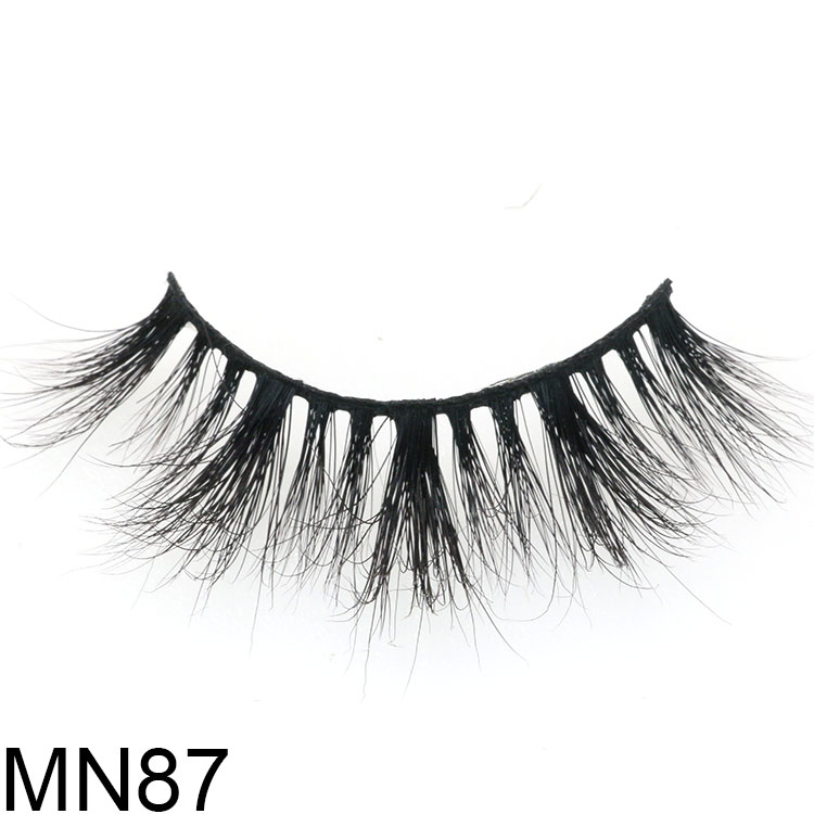 Lash manufacturer wholesale real mink lashes with magnetic custom box USA CO