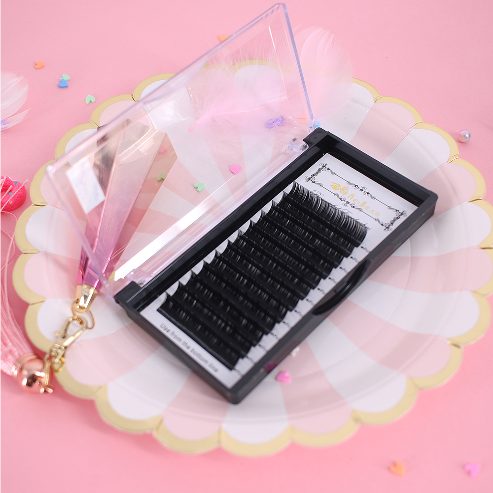 Lash vendor supply mink eyelash extensions with own brand ...