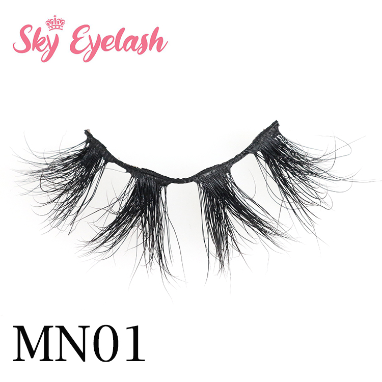 Eyelash vendor wholesale most fashionable 3D mink eyelashes-BW