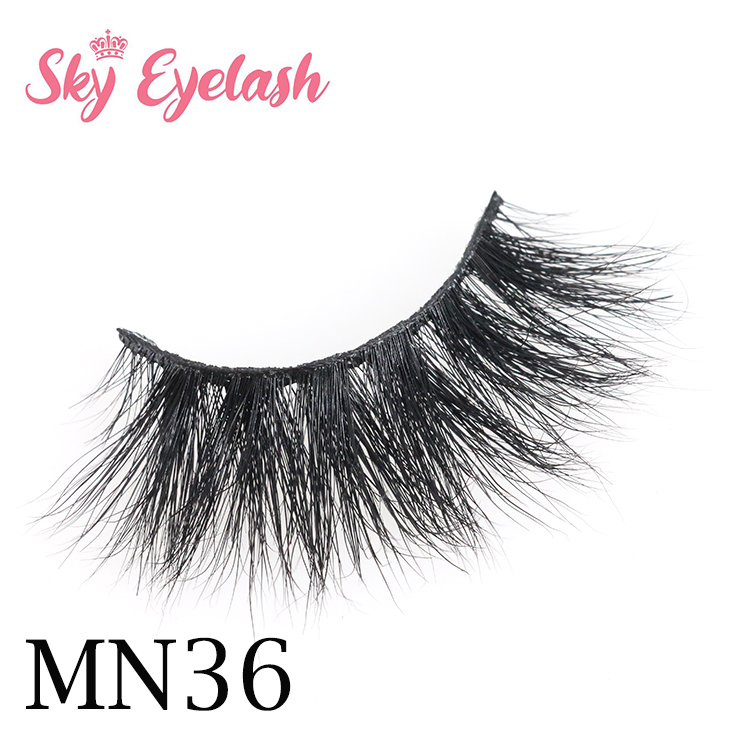Top eyelash vendor wholesale 5 real mink eyelashes to US 2020
