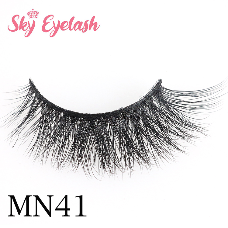 Most natural looking strip eyelash vendors wholesale 3d mink eyelashes