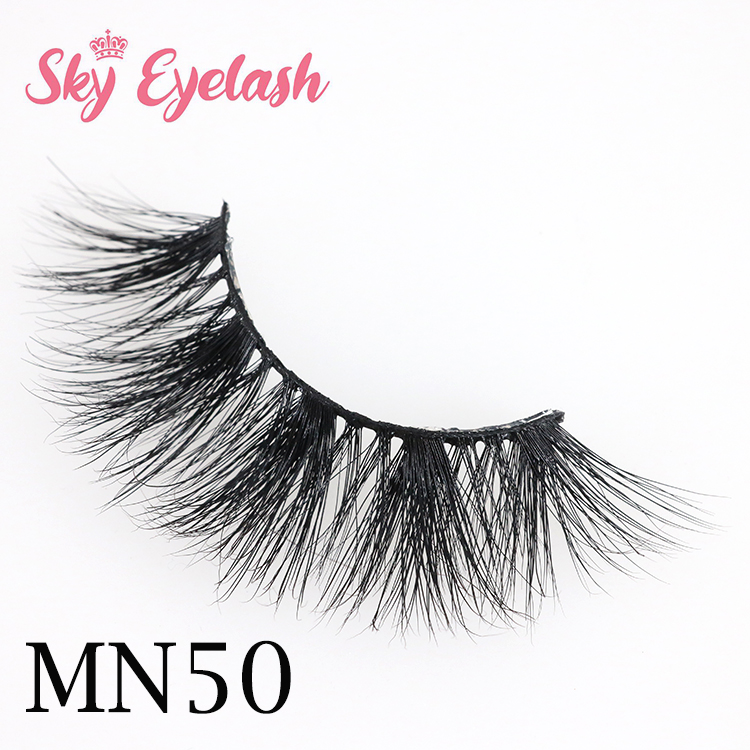 Sky eyelash:2020 top 10 3D mink eyelash manufacturers wholesale for US