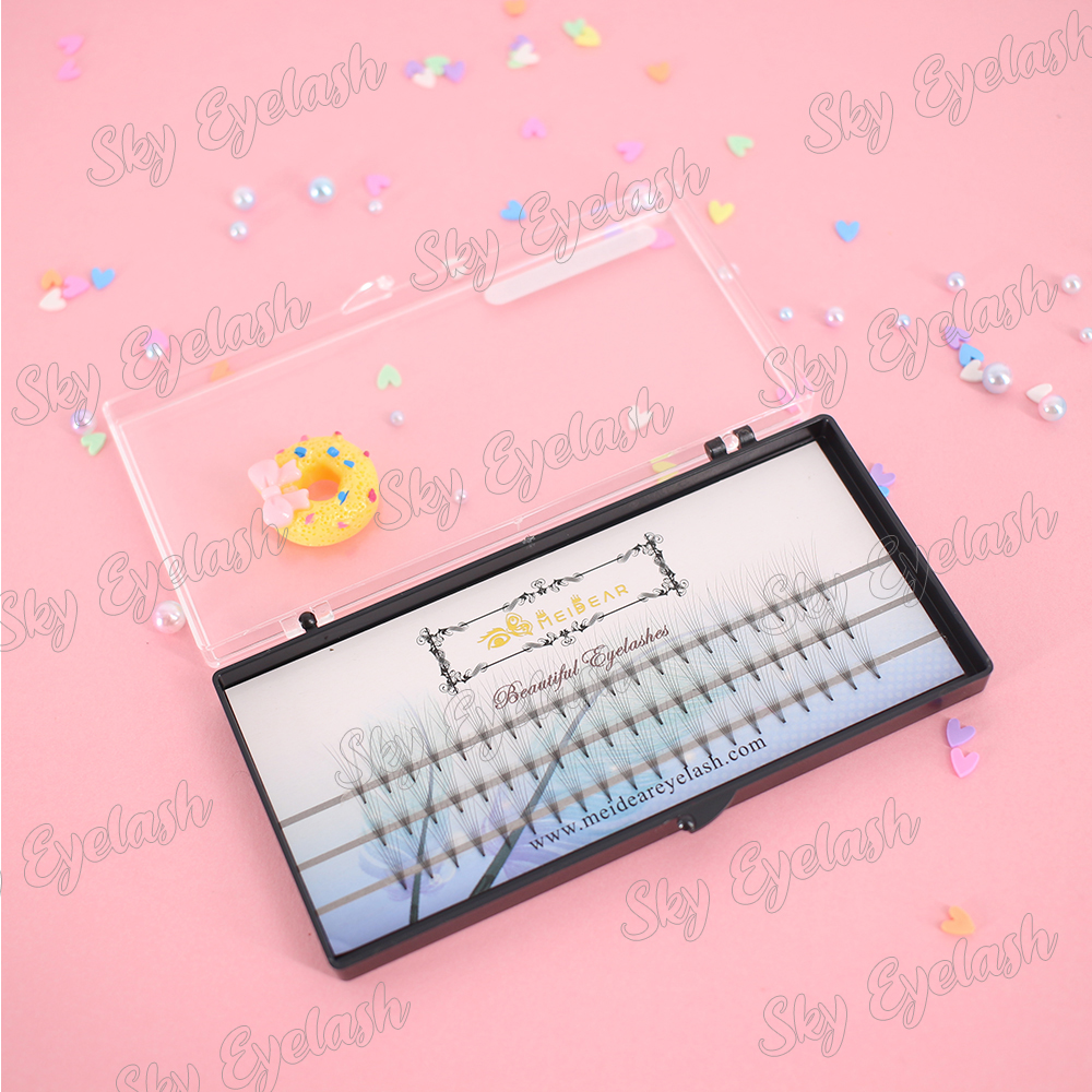 Lash extension supplies wholesale volume eyelash extension with adhesive