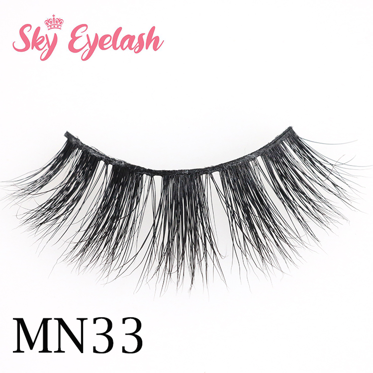 20mm Real mink lashes only 1.8$ with cheap 3d mink lashes packaging OL