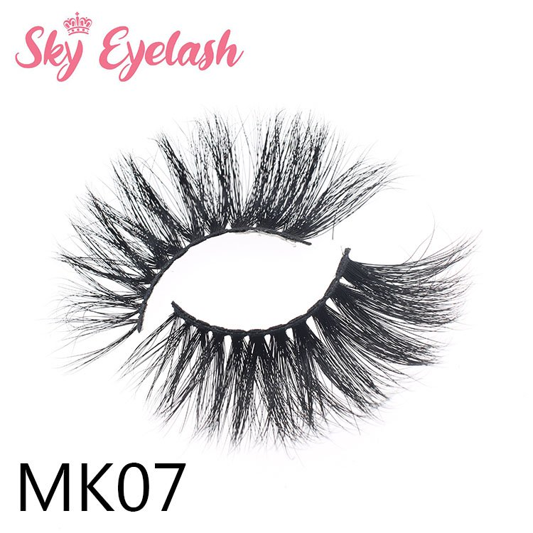 25mm long mink lashes vendor wholesale false lashes  for highly recommend