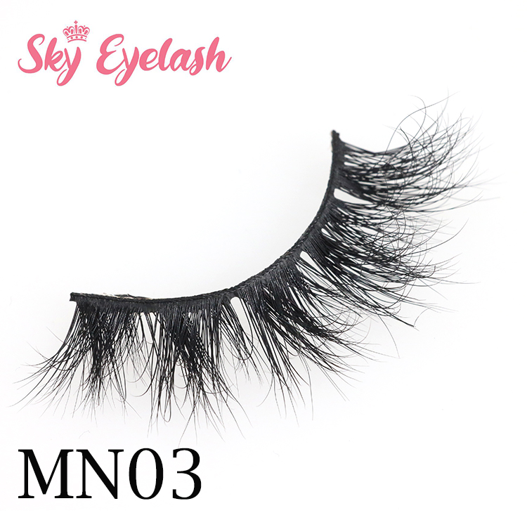 Sky eyelash vendors dallas tx wholesale 3D mink eyelashes with private label