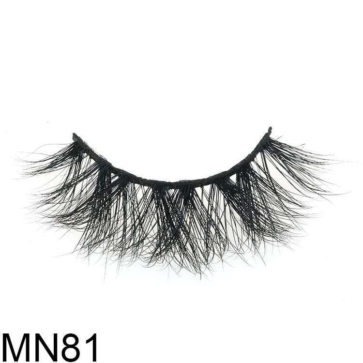 Own brand packaging for fluffy 5D mink eyelashes with mangetic liner CO