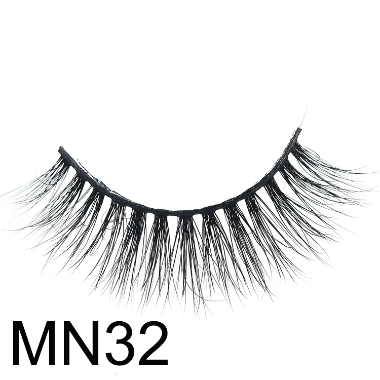 2020 most fluffy 5D mink eyelashes with eyelash box manufacturer to USA CO