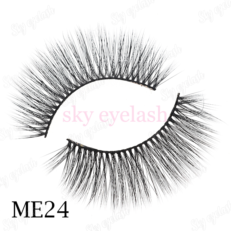 3D faux mink eyelashes wholesale private label box-BW