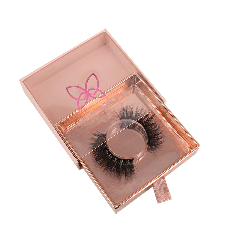 Mink lash vendors supply own brand eyelash packaging with private label USA