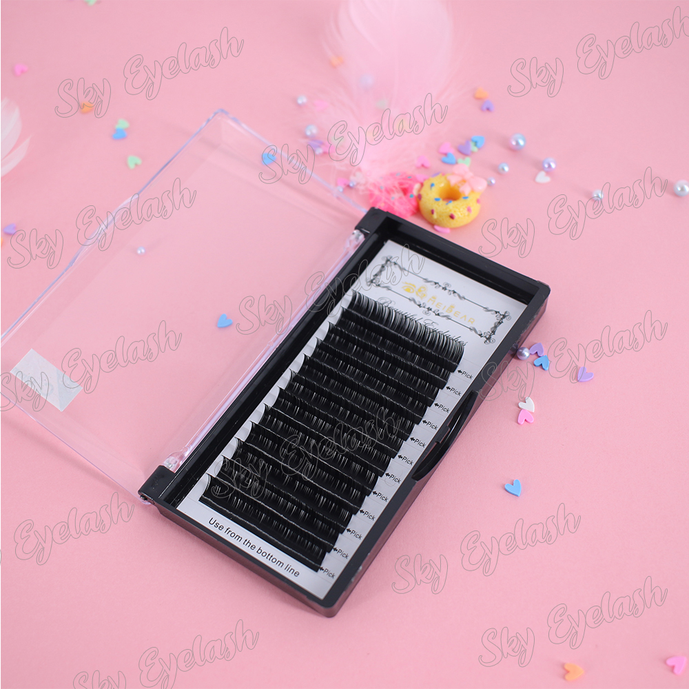 Professional lash vendor wholesale volume eyelash extensions near me with adhesive