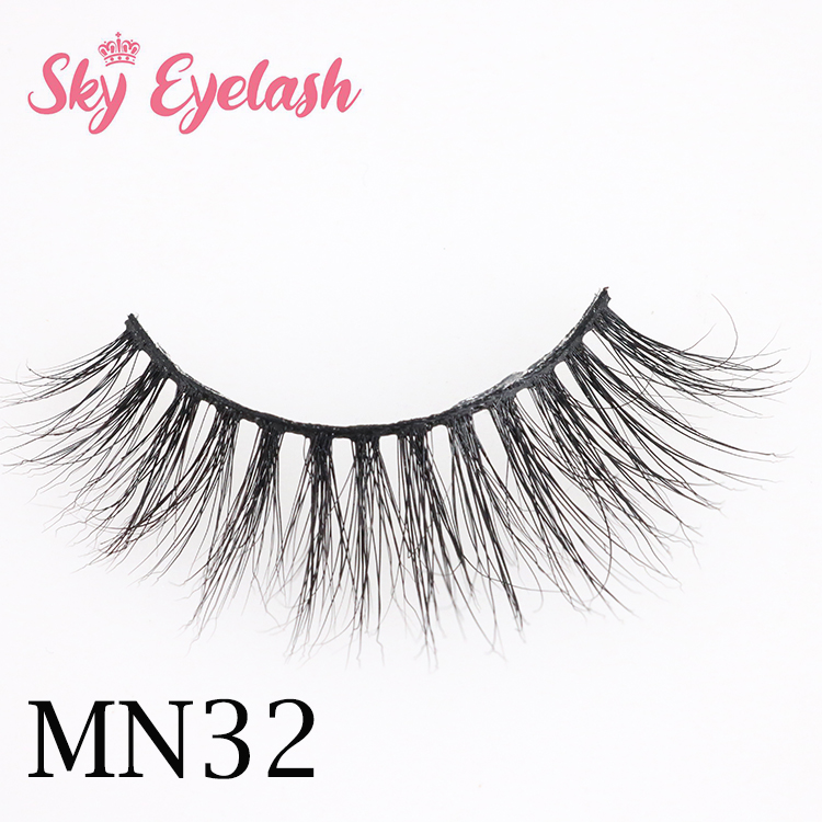 Lashes vendor in China supply new 3D mink lash styles with private label box for 2020-BW