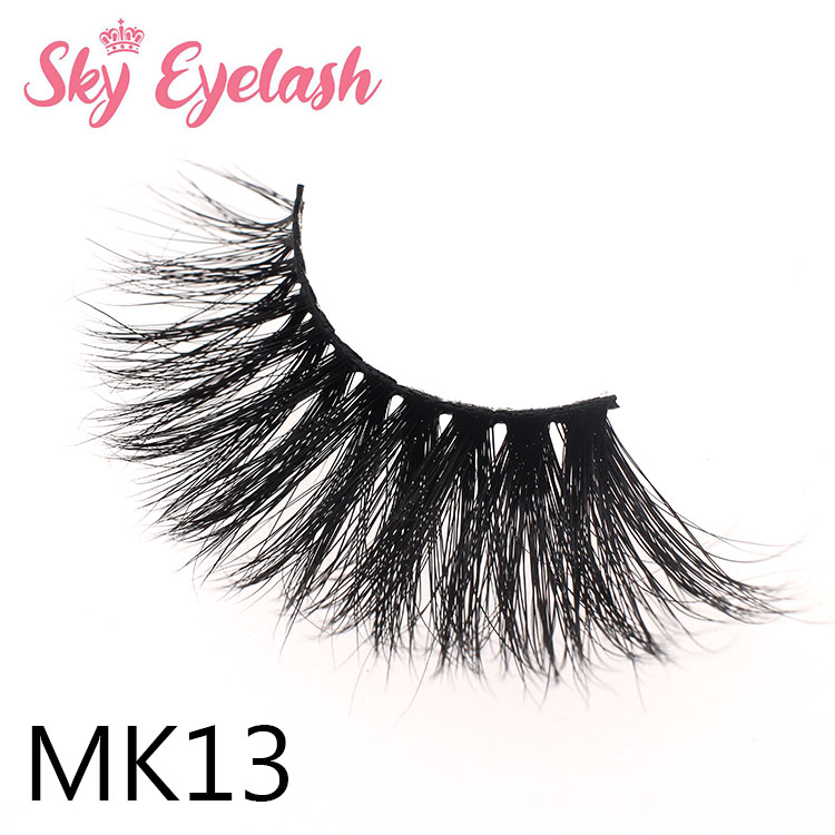 Gorgeous real mink eyelash wholesale distributor private logo glitter packing to US ES