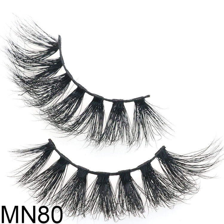 Crisscross 5D mink eyelash vendor supply fluffy dramatic lashes packaigng CA