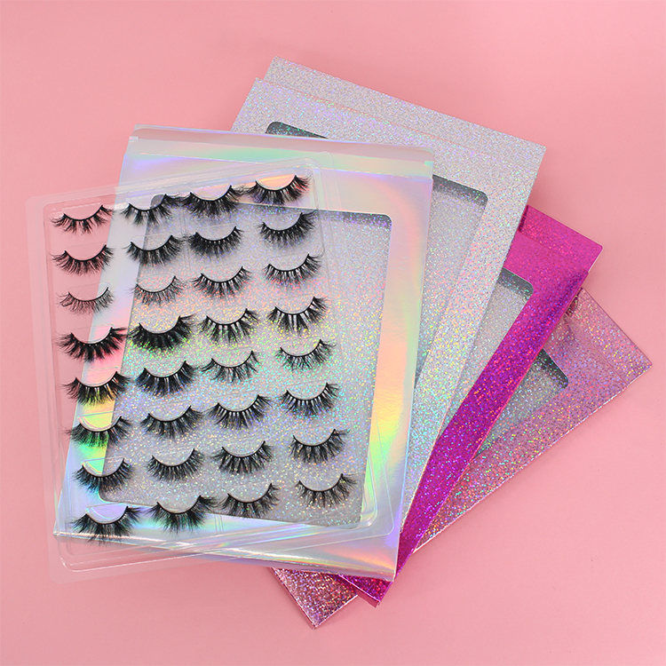 Private label lash suppliers wholesale 16 pairs lash book packaging to USA