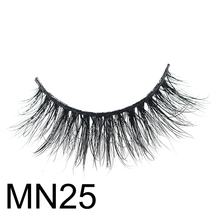 Top 3 best 3D mink eyelash vendors supply 25mm 5D lashes with custom boxes CO