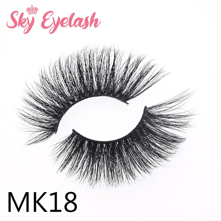 Wholesale real mink lashes China vendor create your own packing box to California ES
