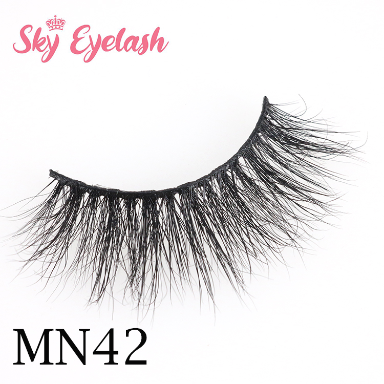 Top 9 Mink eyelash supplier in China Sky eyelash wholesale mink false eyelashes