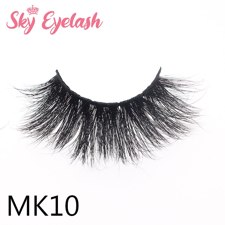 25mm length mink eyelashes vendors 1.7usd factory price empty fashion packing box ES