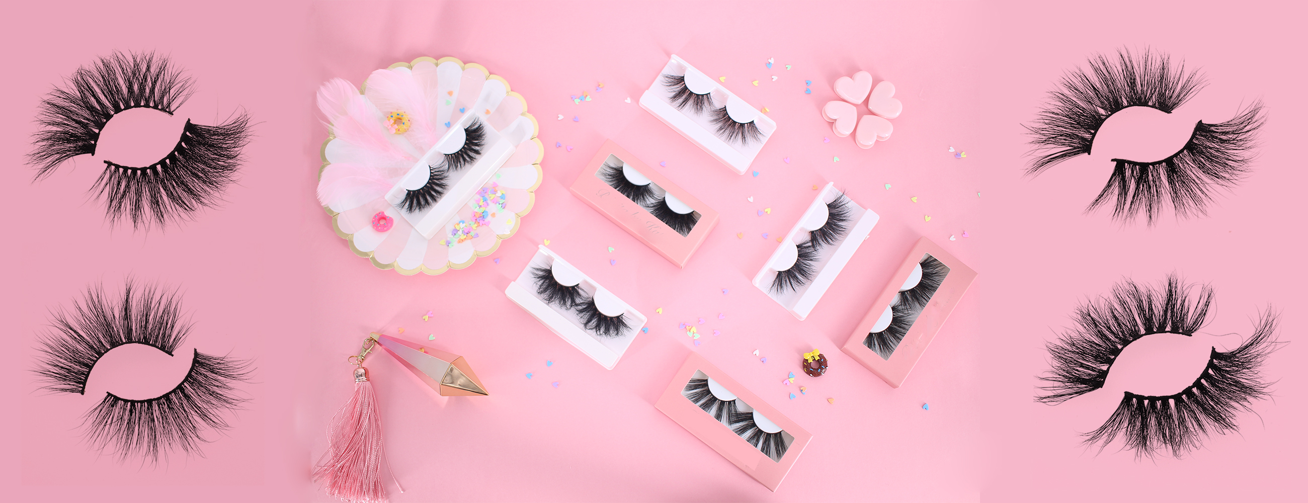 Lash vendors wholesale 3D lashes 25mm real mink eyelashes with cheap price