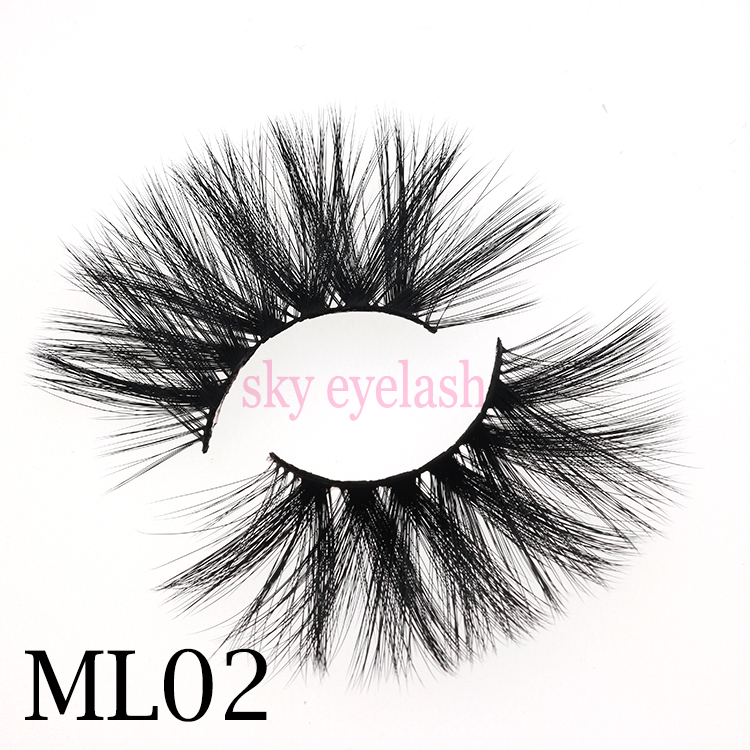 Eyelash glue vendor wholesale 25mm faux mink eyelashes with artificial eyelashes