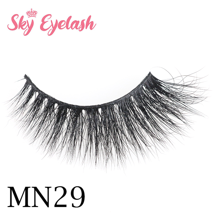 China eyelash industry wholesale flare 3D mink eyelash to New York