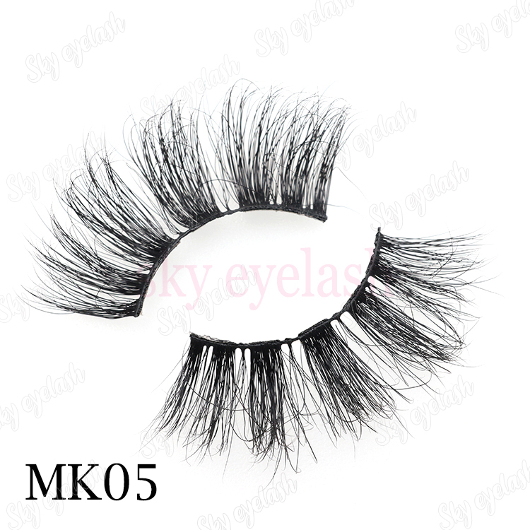 Best strip glue with 25mm 3D mink eyelashes with customized lash boxes CO